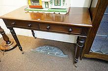 Vic mah 2 drawer writing table