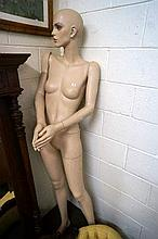 1950's adjustable shop mannequin