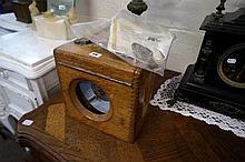 Oak cased Toulet Imperator pigeon clock