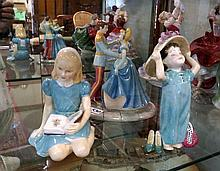 3 R/Doulton figures, Make believe, This is Love & Alice