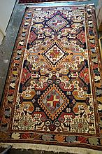 Turkish hand made woollen rug 210 x 120