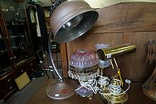 1960's Infratherm lamp & 3 others