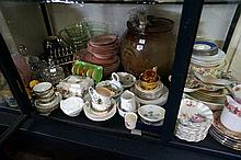 Large collection of china & EP inc Doulton, R/Albert etc