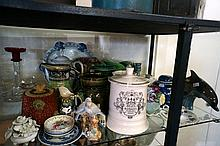 Large collection of Vic & later jugs, vases etc