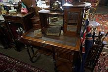 Australian blackwood & silky oak ladies desk