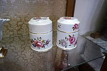 2 Royal Worcester trinket boxes