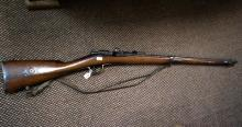 French Gras single shot bolt action rifle marked 1874