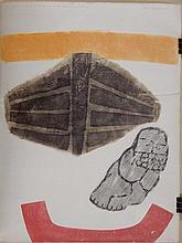 Arthur Mazmanian Abstract Woodcut 1964