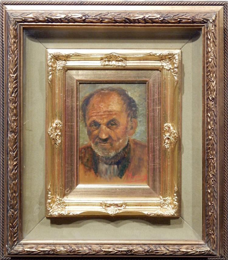 Domenico Mingione Self Portrait Oil Painting