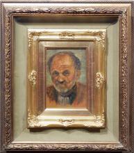 Domenico Mingione Self Portrait Oil Painting