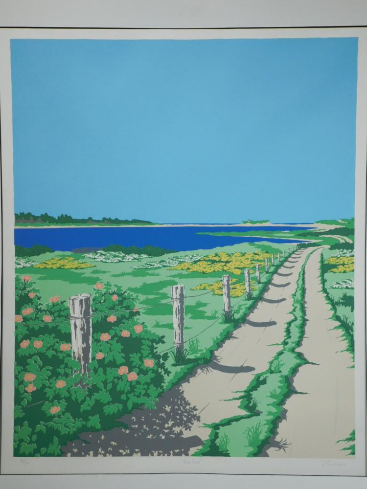 Eric Holch: Pond Road, Cape Cod Silk Screen Print