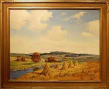 Ernest Fredericks: Summer Splendor Oil Painting