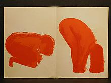 Claude Garache: Female Nudes, Three Original Lithographs, 1975