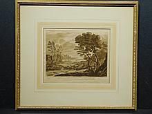 Richard Earlam,, After Claude le Lorrain, Devonshire Engraving 1775
