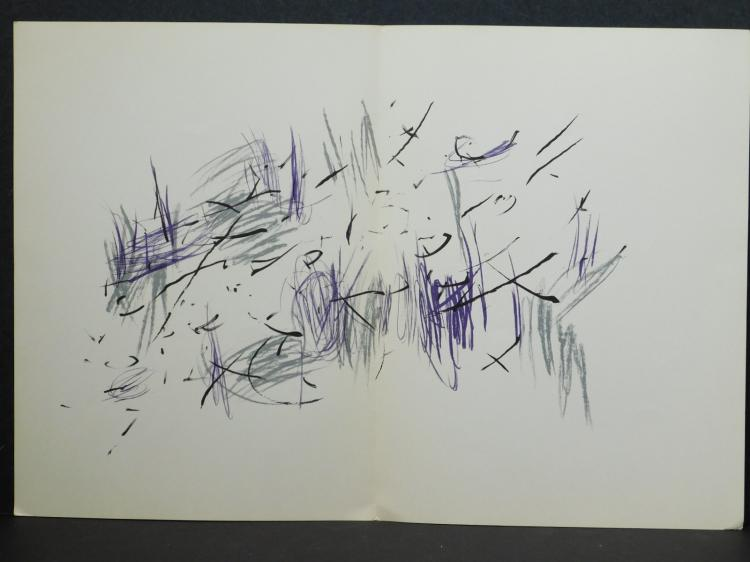 Jean René Bazaine: Three Original Color Lithographs 1972