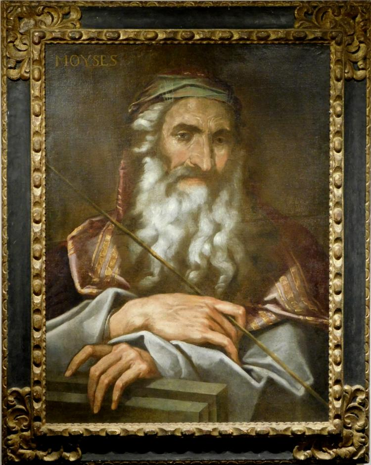 Jose de Ribera: Portrait Study of Moses, Oil, c.1637