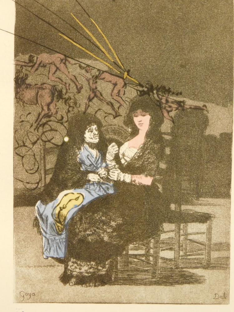 Salvador Dali: Les Caprices de Goya, 1977