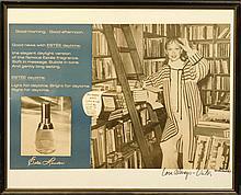 Victor Skrebneski: Estee Lauder advertisement, Signed