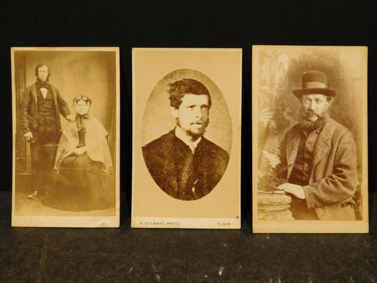 Collection of Fifty 19th century Portrait Photographs