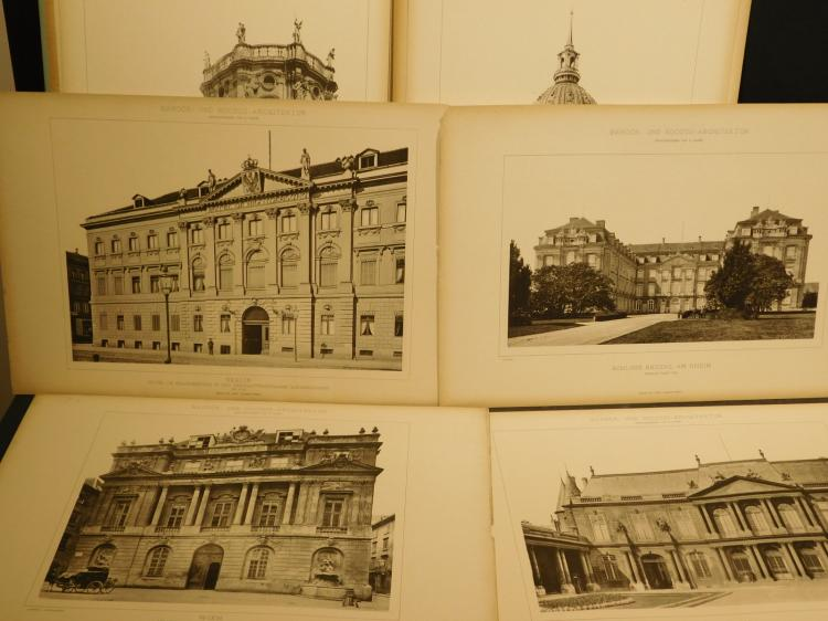 Two Folios: Barok und Rococo Architektur