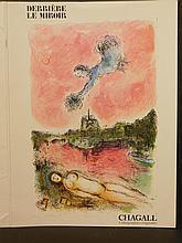 Marc Chagall: Vue Sur Notre Dame, Original Lithograph, 1981