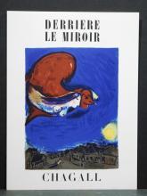 Marc Chagall: Original 1950 Stone Lithograph