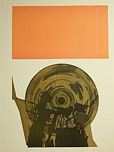 Roberto Delamonica: Thought Action, 1971 Intaglio Etching