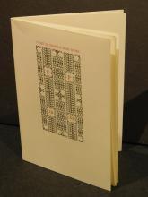 Gehenna Press: Books Catalog, 1967,  w Stapled Binding