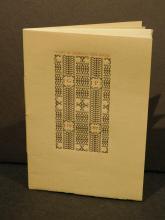 Gehenna Press: Books Catalog, Deluxe Copy w Sewn Binding, 1967