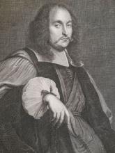 Le Grand: Vincent Boyer Portrait Engraving, France 1697