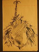 Leonard Baskin: 1969 Exhibition Poster