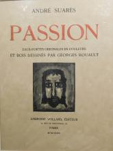 Georges Rouault: Passion Cover Page Wood Engraving