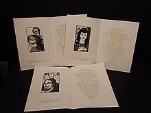 Howard J. Besnia: 3 Variant Prospectae From Shakespeare Comedies