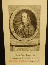 Gehenna Press: Benjamin Franklin Portrait