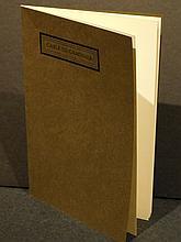 Gehenna Press: Cable To Gardner, 1970