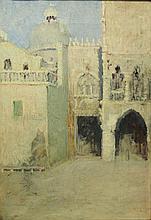 John Singer Sargent: Porta della Carta, Venice, Oil