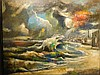 Abraham Harriton: Subsiding Storm (Provincetown) oil painting., Abraham Harriton, $500