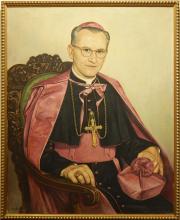 B. Justis: 1954 Portrait of a Cardinal