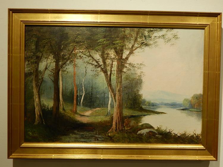 Frigies Matzon: Path Along a River
