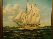 Martz: The Yacht Anny von Hamburg