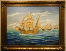 Herb Hewitt: Galleon and Ships