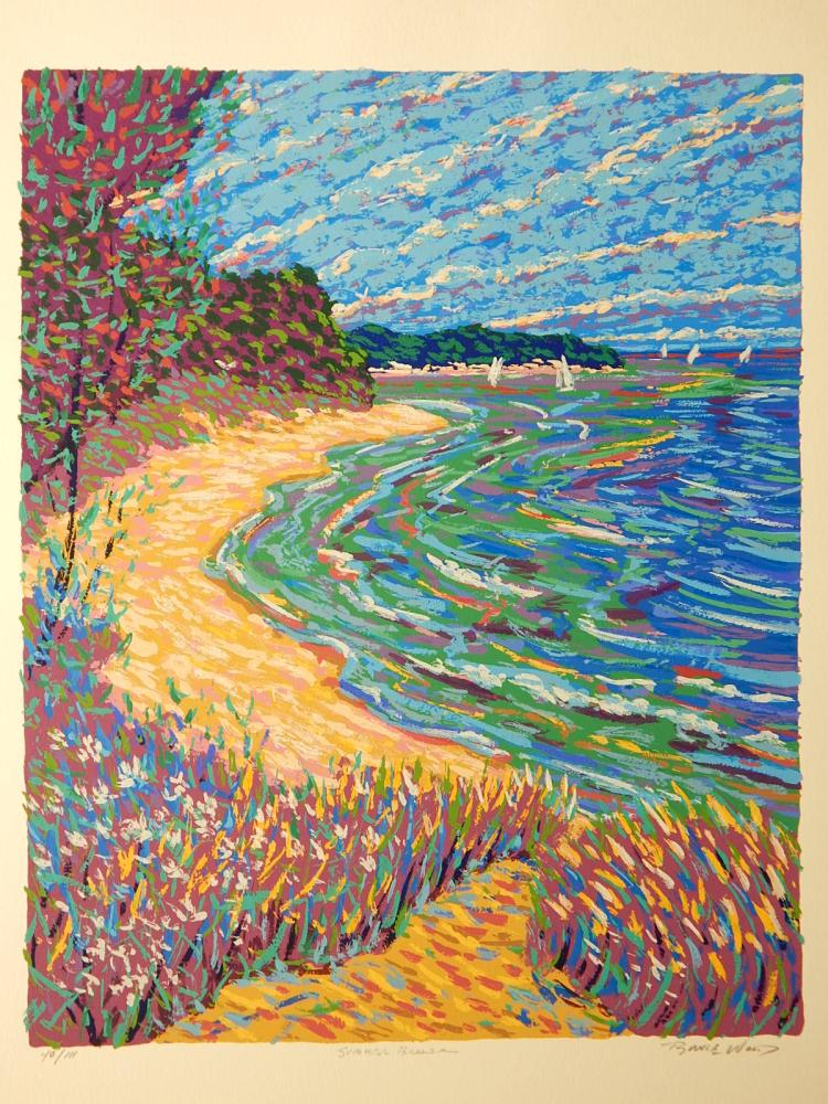 Bruce Wood: Summer Breeze, Serigraph
