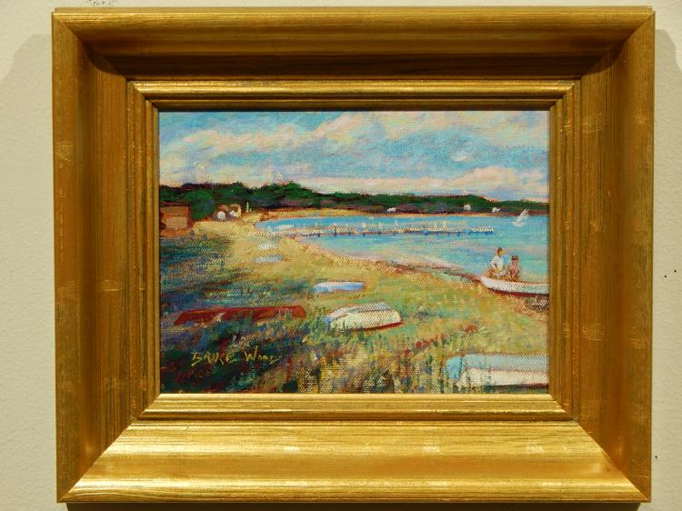 Bruce Wood: Cape Cod Acrylic Painting