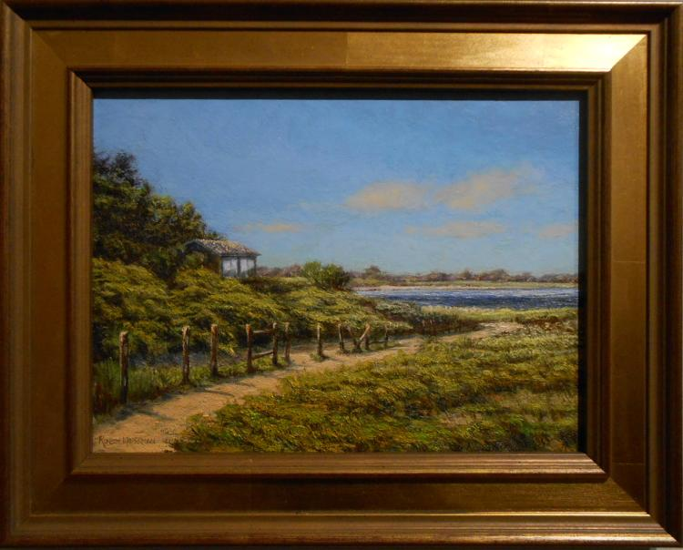 Robin Wessman: Hideaway, Oil Painting