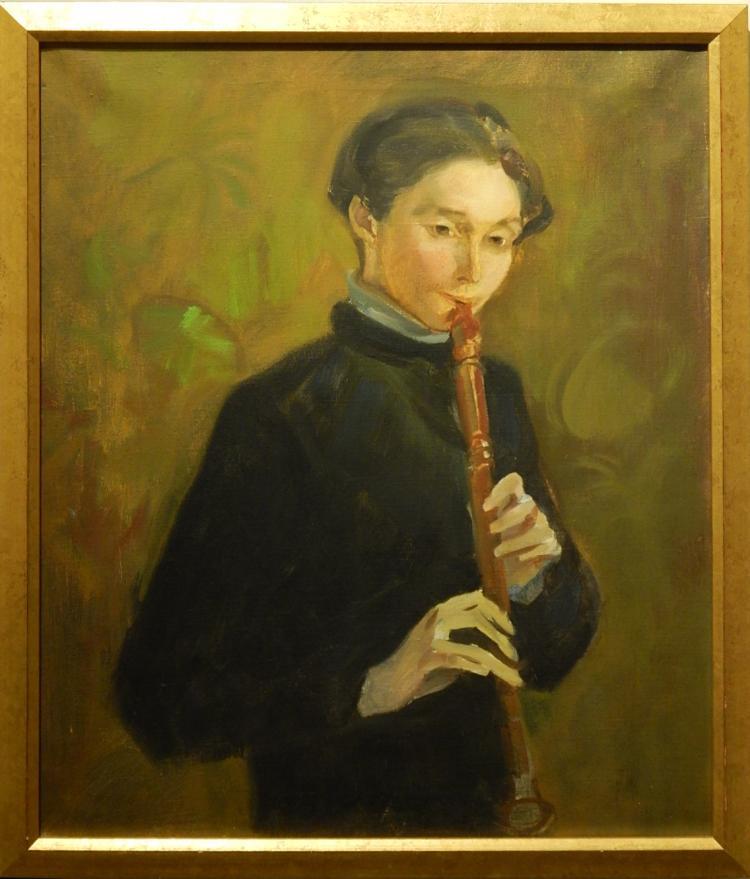 Joaquin Torrents LLADO: Portrait of a Boy with Recorder