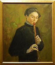 Joaquin Torrents LLADO: Portrait of a Boy with Recorder