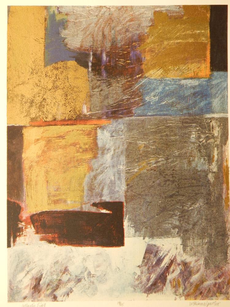 William Janosco: Pacific Light, Serigraph