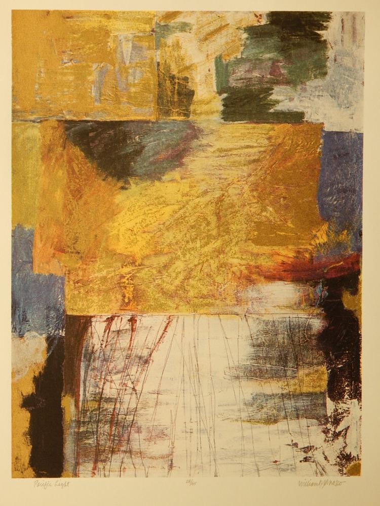 William Janosco: Atlantic Light, Serigraph