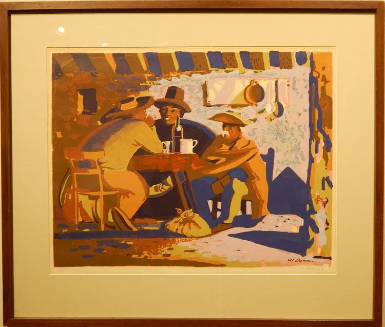 Wilhelm Dohm: Argentina c.1950 Screen Print