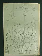 Jean Charlot: Chalma 1925 Lithograph